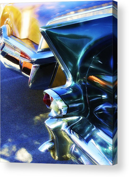 Car Auction Acrylic Print featuring the photograph Nostalgia by William Dey