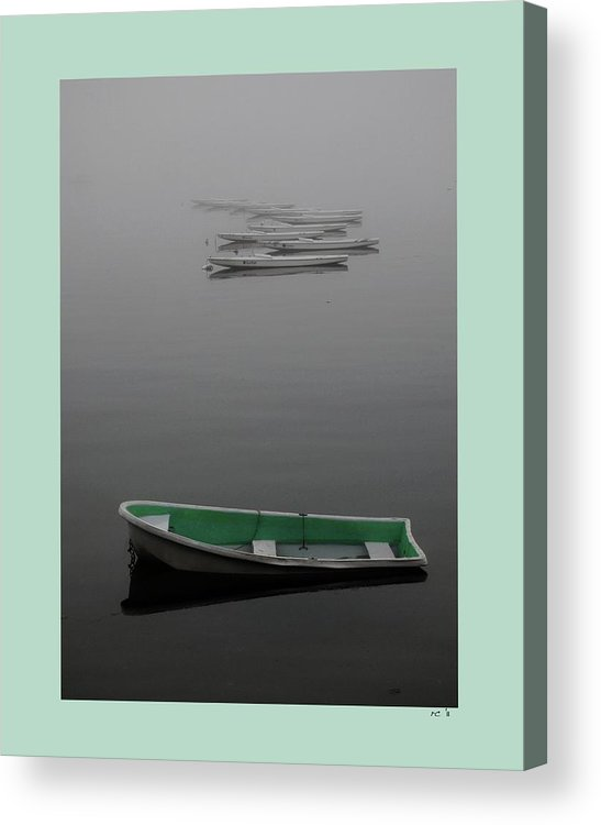 Cape Cod Bay Acrylic Print featuring the photograph Stillness by Rene Crystal