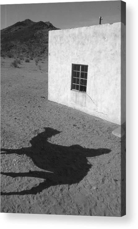 Desert Acrylic Print featuring the photograph South Africa 1995 by Rolf Ashby