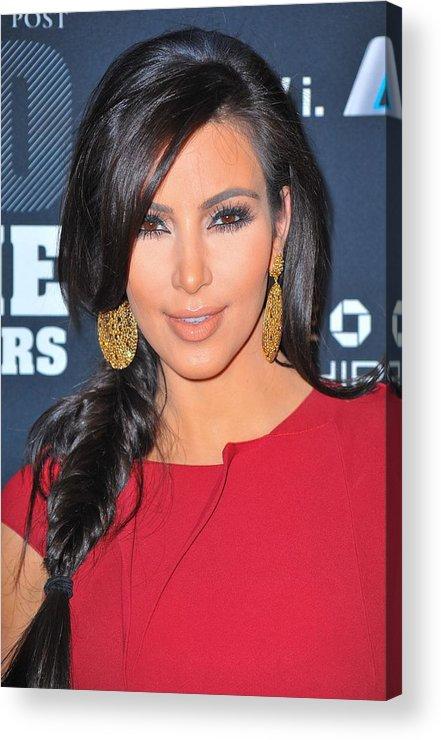 Kim Kardashian Acrylic Print featuring the photograph Kim Kardashian At Arrivals For 2011 by Everett