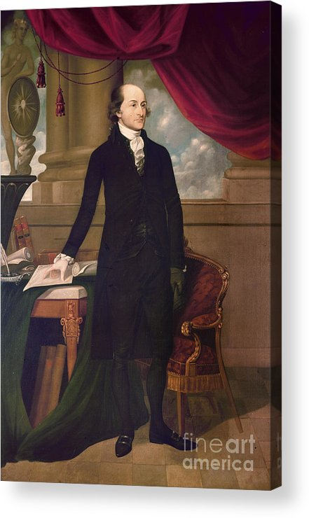 1782 Acrylic Print featuring the photograph John Jay (1745-1829) by Granger