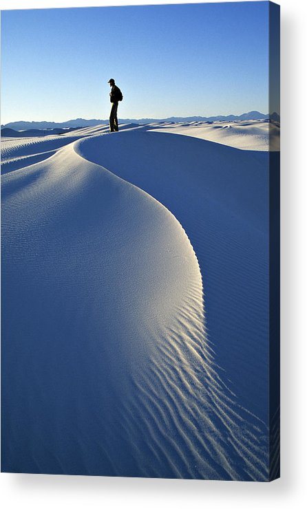 Travel Acrylic Print featuring the photograph White Sands National Monument, Nm Usa by Dawn Kish