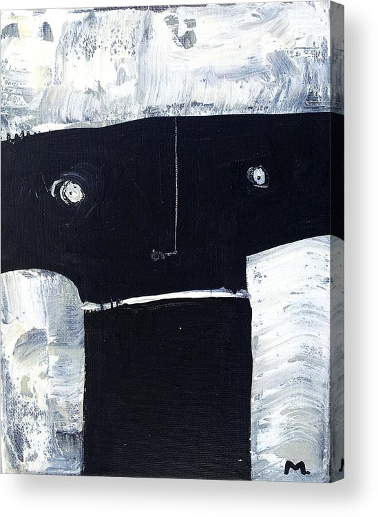 Art Acrylic Print featuring the painting Animus No 17 by Mark M Mellon