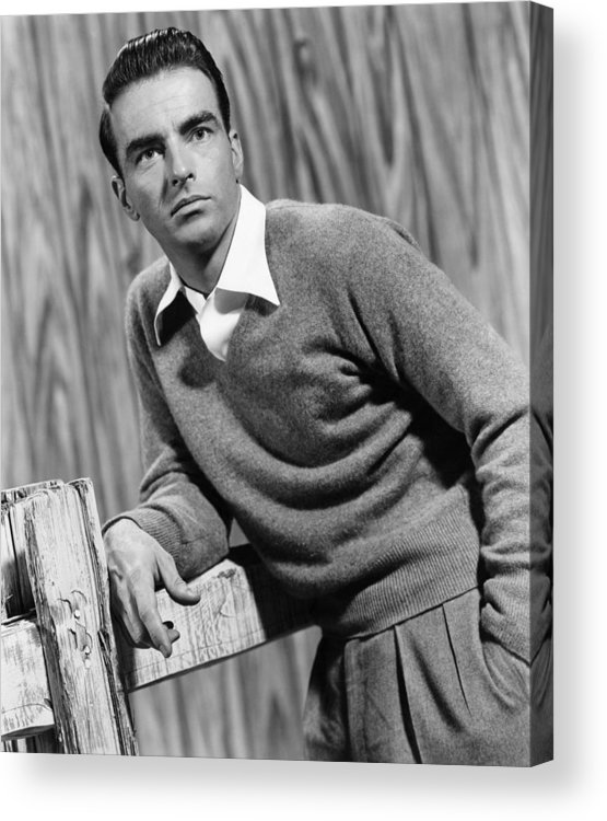 1950s Movies Acrylic Print featuring the photograph I Confess, Montgomery Clift, 1953 by Everett