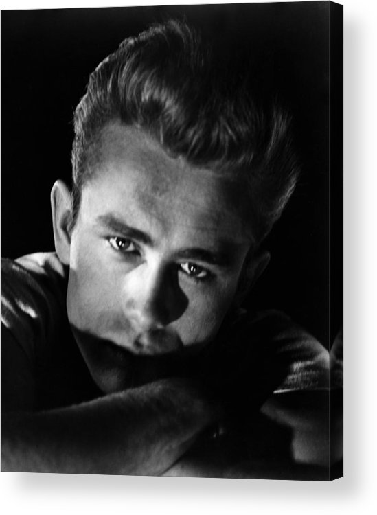 1950s Portraits Acrylic Print featuring the photograph Rebel Without A Cause, James Dean, 1955 by Everett