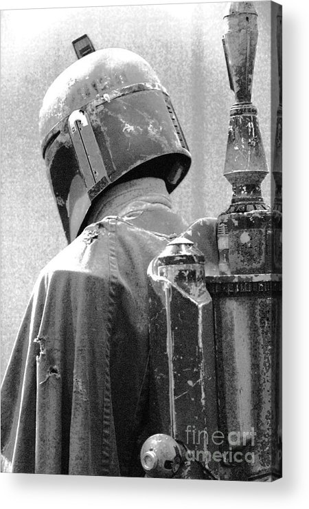 Boba Acrylic Print featuring the photograph Boba Fett Costume 3 by Micah May