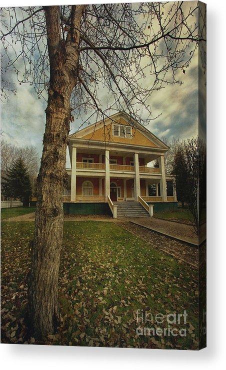 Commissioner's Residence Acrylic Print featuring the photograph Commissioner's Residence by Priska Wettstein