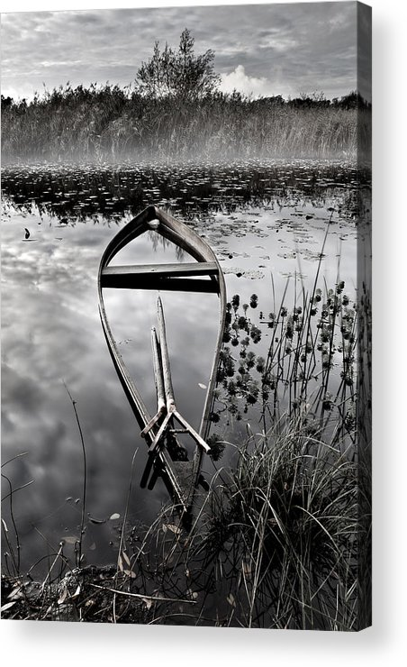 Boat Acrylic Print featuring the photograph Everything Has Its Time by Jorge Maia