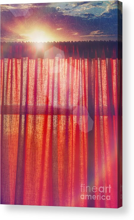 Light Acrylic Print featuring the photograph Goodmorning Sunshine by Danilo Piccioni