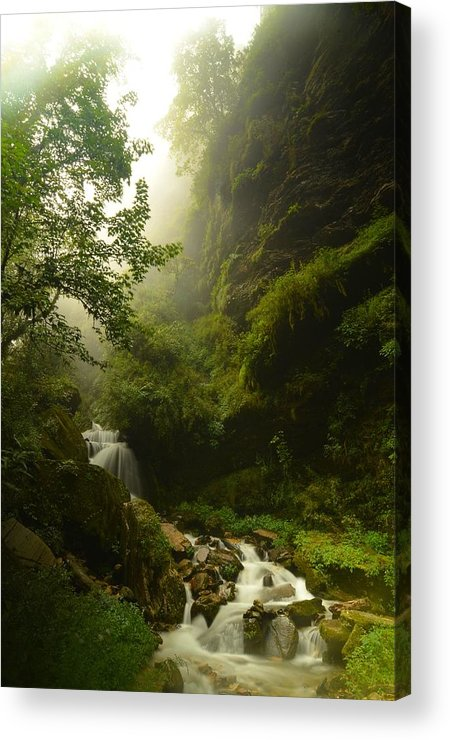 Landscape Acrylic Print featuring the photograph Heaven Calling by Aaron S Bedell