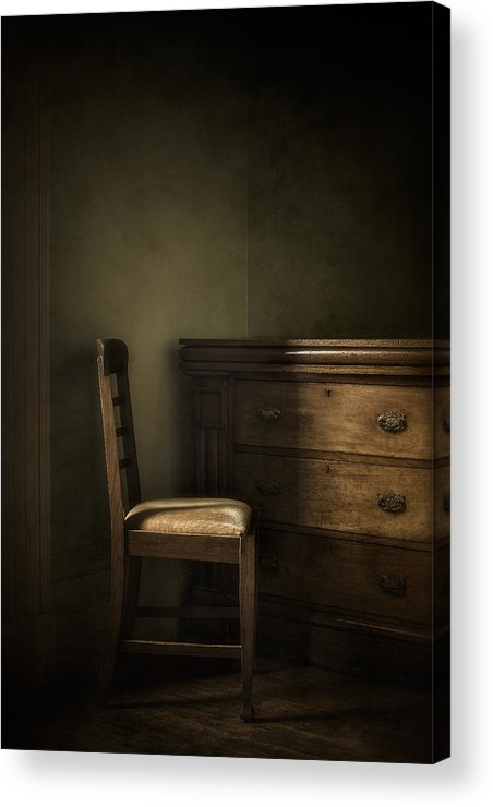 Chair Acrylic Print featuring the photograph Memories by Amy Weiss