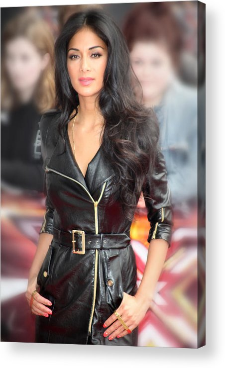 Jezcself Acrylic Print featuring the photograph Nicole Scherzinger 23 by Jez C Self