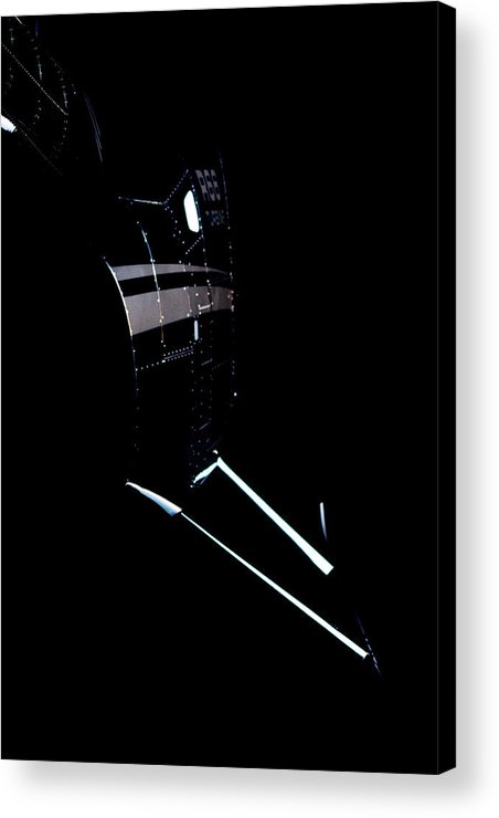 Robinson's R66 Turbine Helicopter Acrylic Print featuring the photograph Night 66 by Paul Job