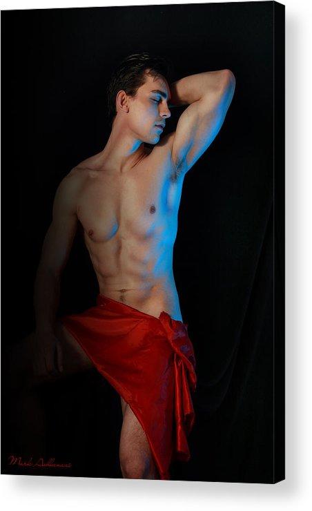 Male Nude Art Acrylic Print featuring the photograph Para Amar Segundo by Mark Ashkenazi