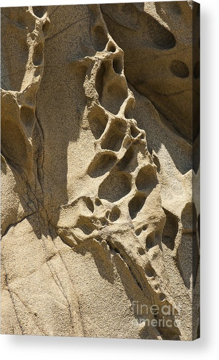 Point Lobos Acrylic Print featuring the photograph Snadstone Rock Formations In Big Sur by Artist and Photographer Laura Wrede