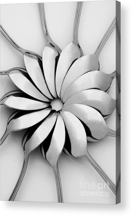 Spoon Acrylic Print featuring the photograph Spoons I by Natalie Kinnear