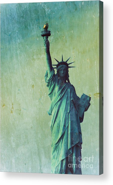 Statue Of Liberty Acrylic Print featuring the photograph Statue Of Liberty by Sophie Vigneault
