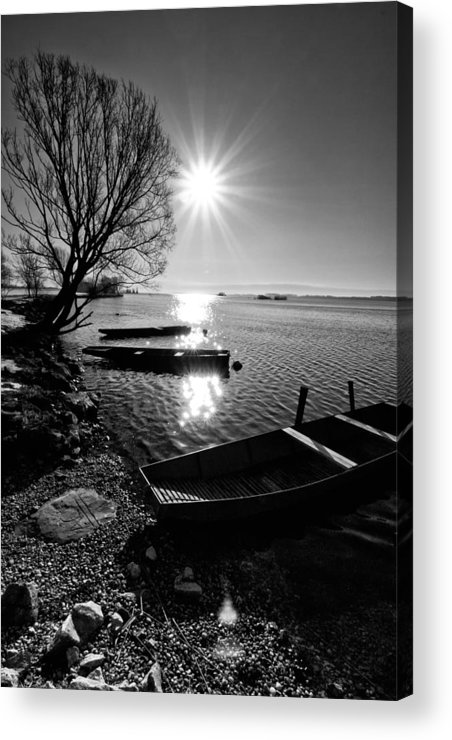 Landscape Acrylic Print featuring the photograph Sunny Day by Davorin Mance
