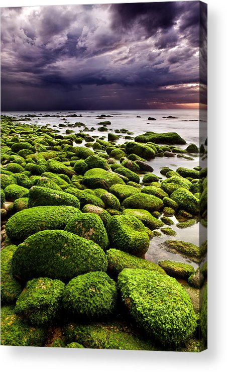 Waterscape Acrylic Print featuring the photograph The Silence After The Storm by Jorge Maia
