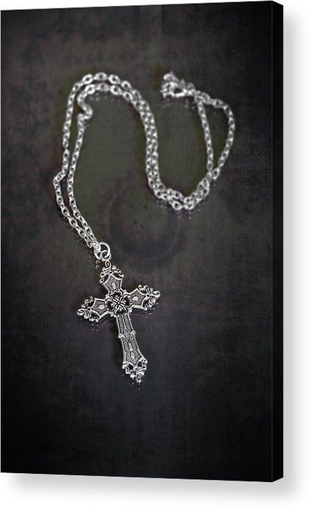 Necklace Acrylic Print featuring the photograph Celtic Cross by Joana Kruse