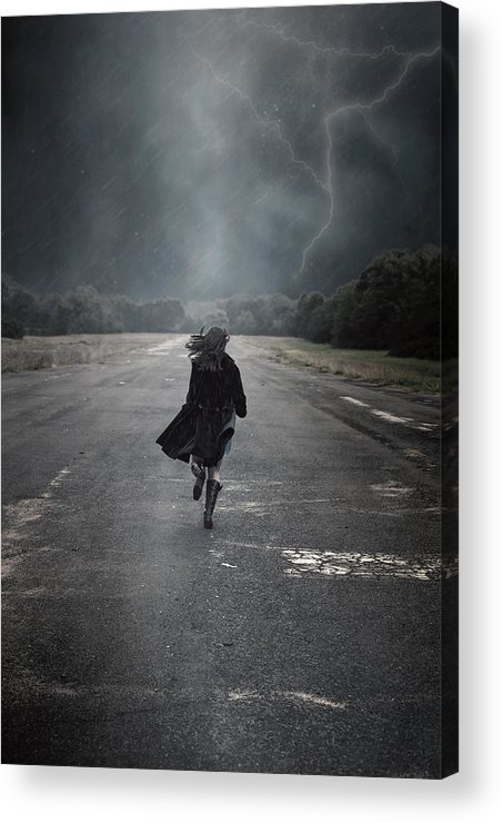 Female Acrylic Print featuring the photograph Escape by Joana Kruse