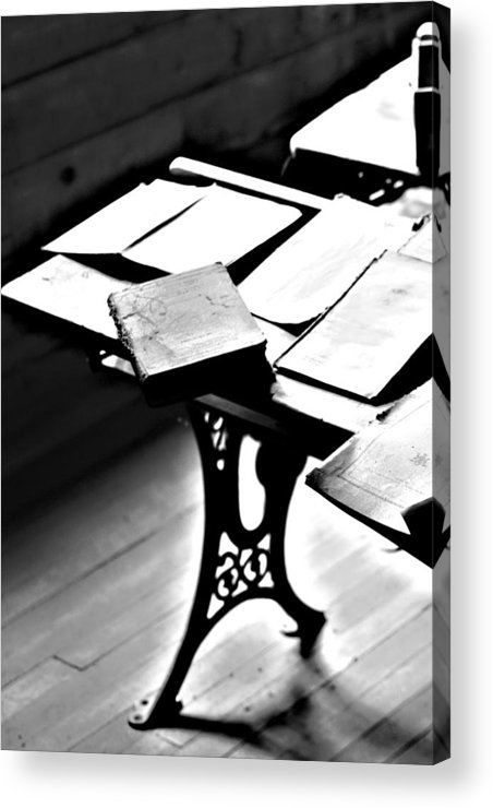 Elm Acrylic Print featuring the photograph Education Station by JC Photography and Art