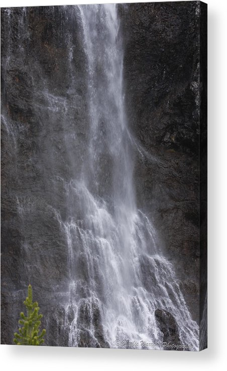 Farie Falls Acrylic Print featuring the photograph Farie Falls by Charles Warren
