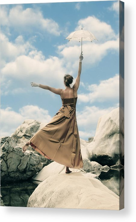 Female Acrylic Print featuring the photograph Mary Poppins by Joana Kruse