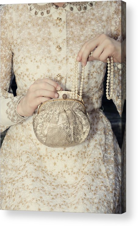 Female Acrylic Print featuring the photograph Pearls by Joana Kruse