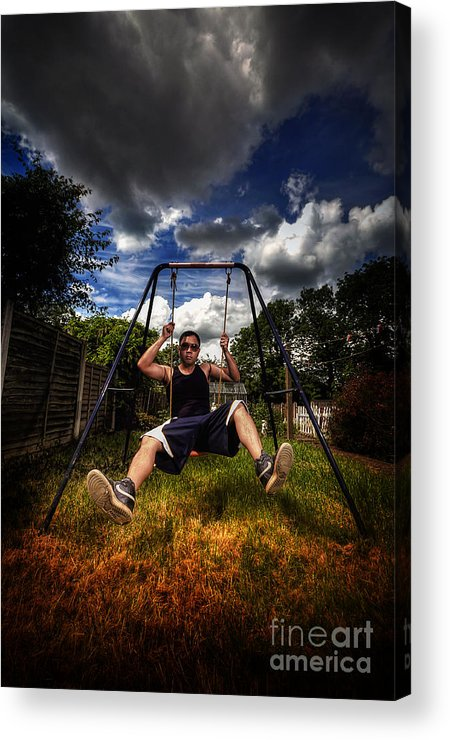 Yhun Suarez Acrylic Print featuring the photograph Swinger by Yhun Suarez