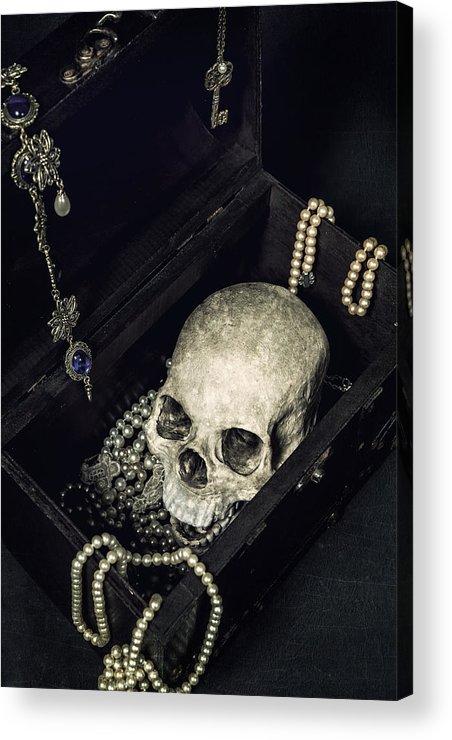 Skull Acrylic Print featuring the photograph Treasure Chest by Joana Kruse
