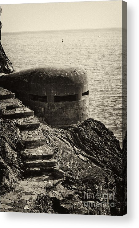 Wwii Acrylic Print featuring the photograph Wwii Pill Box by Leslie Leda
