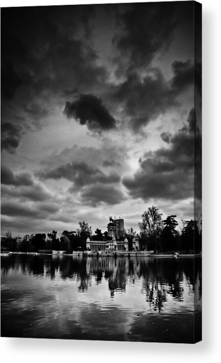 Park Acrylic Print featuring the photograph Retiro by Felix M Cobos