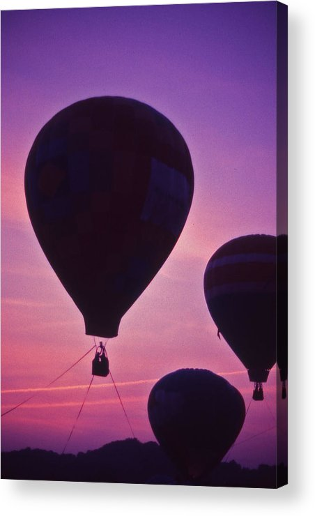 Hot Air Balloon Acrylic Print featuring the photograph Hot Air Balloon - 8 by Randy Muir