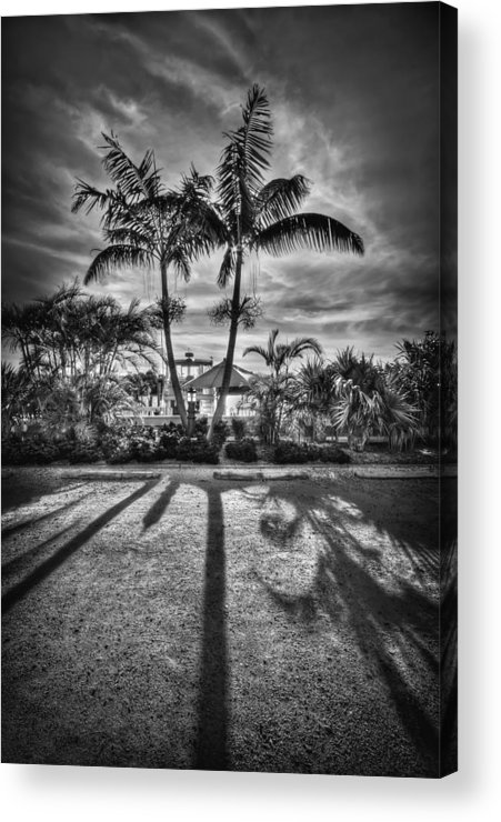 Boca Grande Acrylic Print featuring the photograph Shadow Waltz by Evelina Kremsdorf