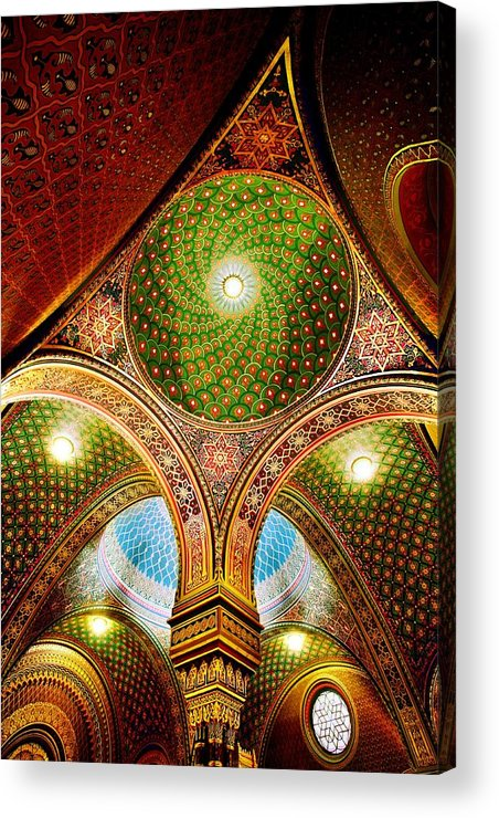 Spanish Synagogue Acrylic Print featuring the photograph Spanish Synagogue by John Galbo
