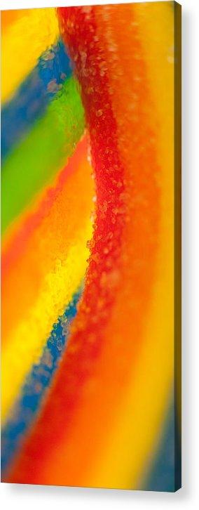 Rainbow Acrylic Print featuring the photograph Rainbow by Rebecca Skinner