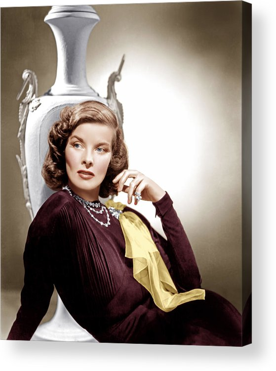 1930s Movies Acrylic Print featuring the photograph Holiday, Katharine Hepburn, 1938 by Everett