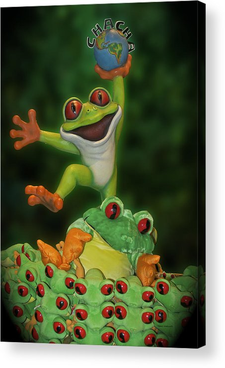 Signs Acrylic Print featuring the photograph Cha Cha Sign by Thomas Woolworth