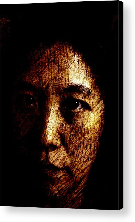 Ageless Acrylic Print featuring the painting Ageless by Christopher Gaston