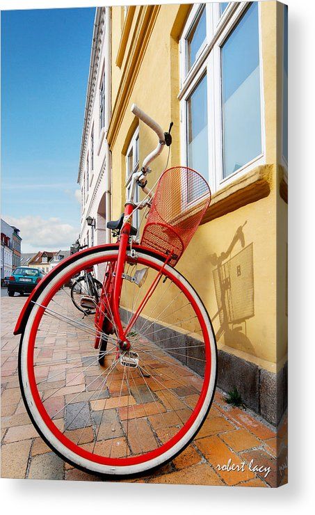 Bicycle Acrylic Print featuring the photograph Danish Bike by Robert Lacy