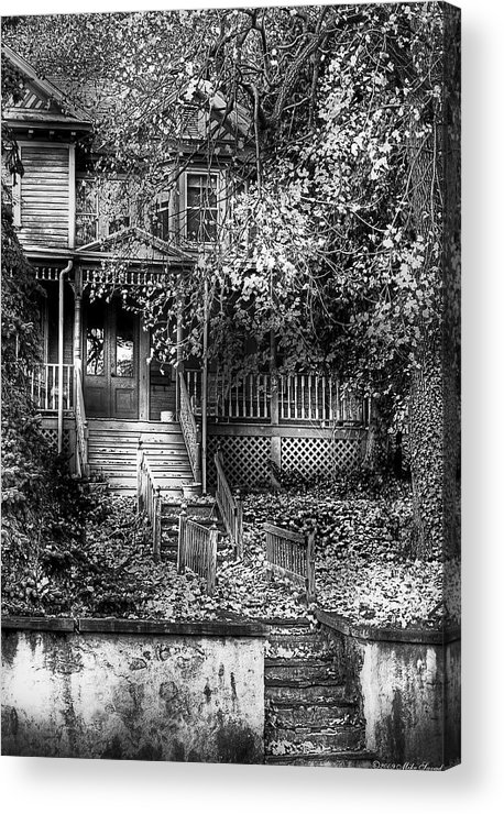 Savad Acrylic Print featuring the photograph Haunted - Abandoned by Mike Savad