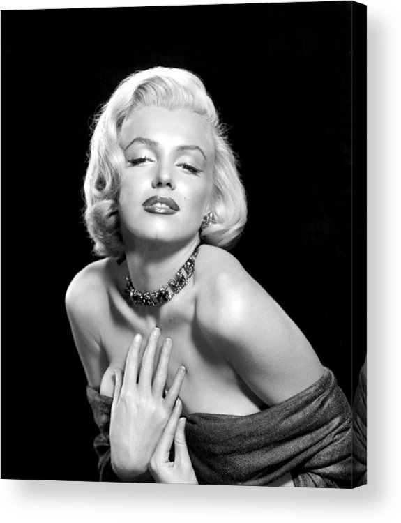 1950s Portraits Acrylic Print featuring the photograph Marilyn Monroe by Everett