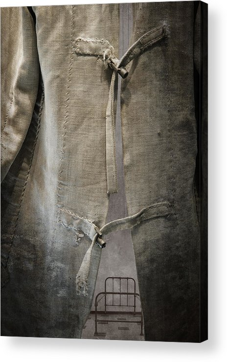 Straitjacket Acrylic Print featuring the photograph Bedlam by Amy Weiss