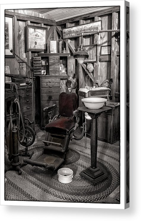 Holcombe-jimison Farmstand Acrylic Print featuring the photograph At The Dentist by Marzena Grabczynska Lorenc