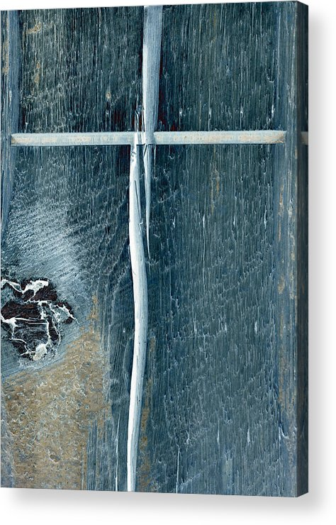 Cross2bear;inspirational Acrylic Print featuring the photograph Cross2bear by Tom Druin