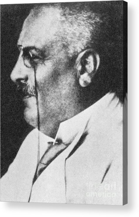 Science Acrylic Print featuring the photograph Alois Alzheimer, German Neuropathologist by Science Source