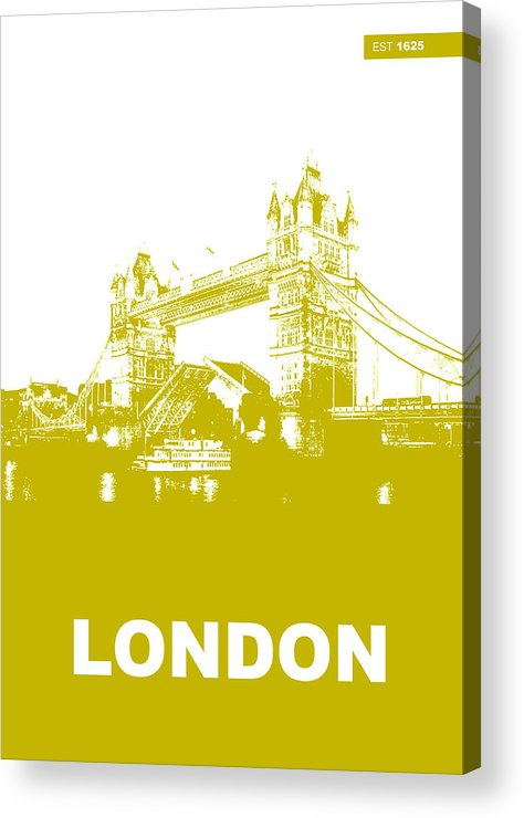 London Acrylic Print featuring the photograph London Bridge Poster by Naxart Studio