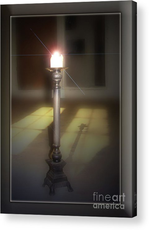 Photograph Works On In Photoshop Acrylic Print featuring the photograph In Memory by Bruno Santoro