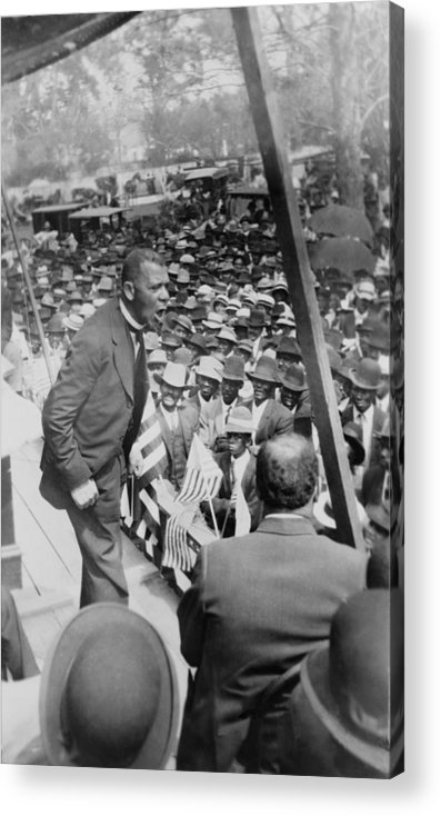 History Acrylic Print featuring the photograph Booker T. Washington 1856-1915 by Everett